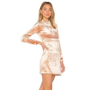 A.L.C gemma mock velvet dress